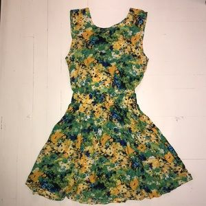 American Apparel floral dress
